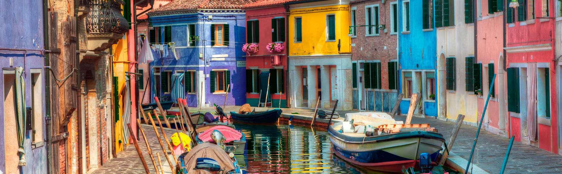 Séjour dans une villa à Mestre avec visite des îles de Burano et de Murano