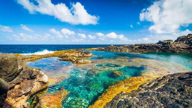 Minimalismo y contemporaneidad enfrente de las playas cristalinas de Puerto del Carmen