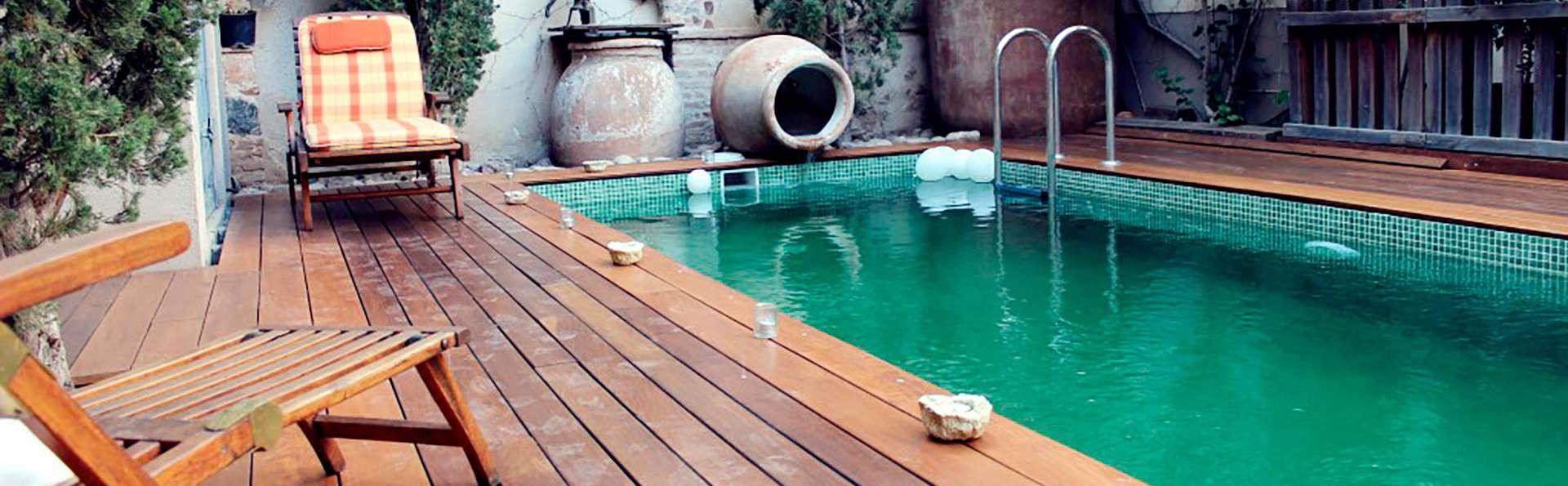 Escapada en Consuegra con bañera hidromasaje en la habitación