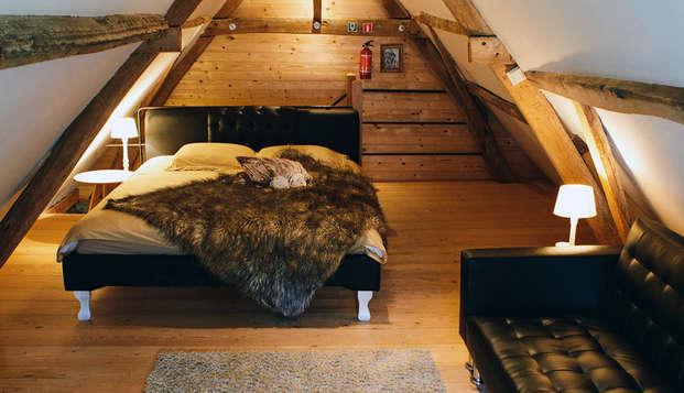 Pure ontspanning en relaxatie in een oude gerenoveerde boerderij in Hansbeke