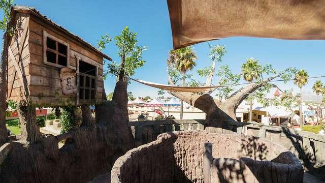 ¡Escapada familiar en todo incluido en un resort con parque multiaventura y toboganes de agua!