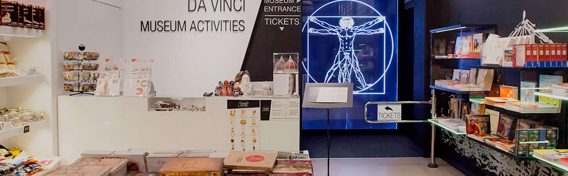 Séjour aux portes de Venise avec une visite au musée Leonardo da Vinci