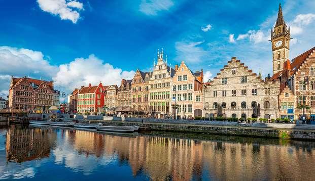 Viaja a la ciudad de Gante y disfruta del lujo y el relax