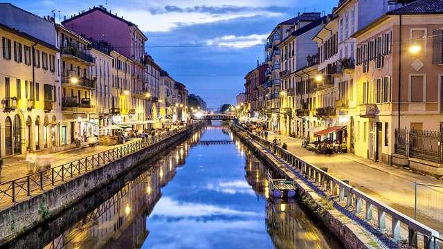 Weekendje in een businesshotel vlakbij Milaan met bezoek aan de Navigli!