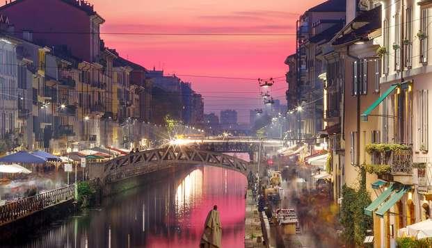 Relajante estancia en un hotel cerca de Milán con una visita al Navigli