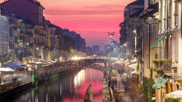 Séjour reposant dans un hôtel près de Milan avec une visite aux Navigli