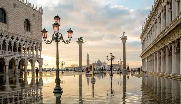 Splendido soggiorno a due passi di Piazza San Marco con ingresso al Palazzo Ducale