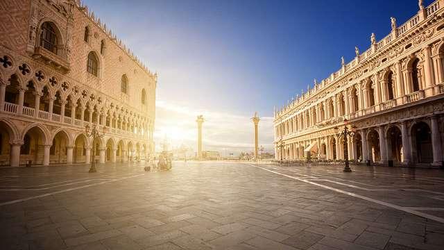 Villa près de Venise, avec billet pour le Palazzo Ducale et les musées de la Place Saint-Marc