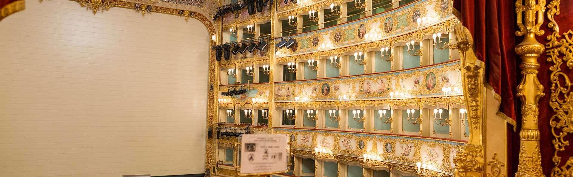 Hôtel 4* moderne entre Mestre et Venise avec entrée au célèbre théâtre La Fenice