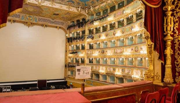Descubre Venecia: alojamiento en un cómodo hotel 4* en Mestre y entrada teatro La Fenice