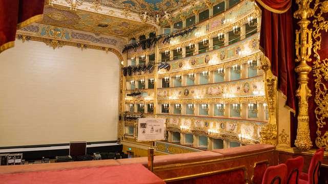 Verblijf in Venetië met toegang tot het Fenice Theater