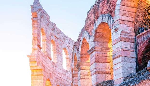 Maravillosa estancia a las puertas de Verona con una visita a la Arena