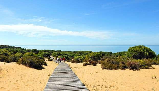 El encanto del pueblo blanco andaluz de El Rocío