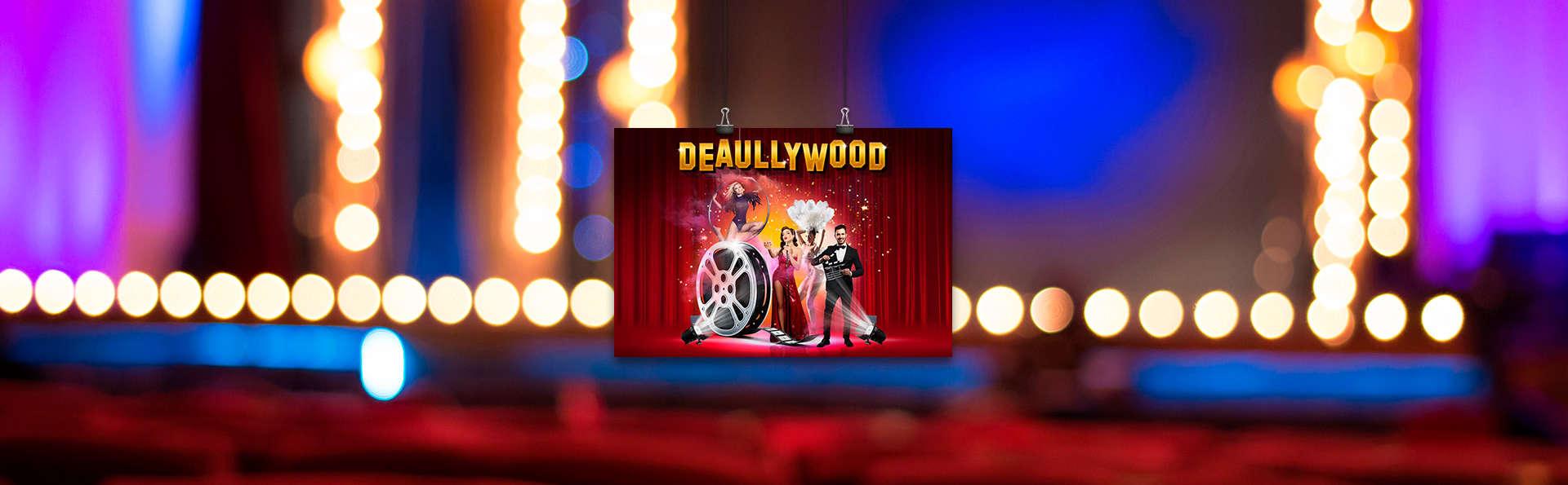 """Entrée au spectacle """"Deaullywood"""" avec dîner avec séjour 3* à Deauville"""