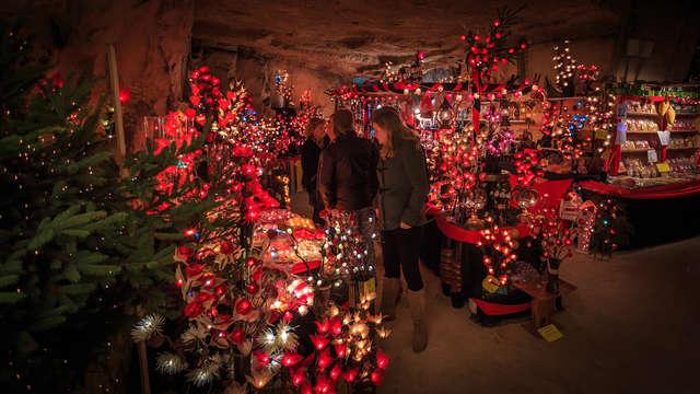 Mercado de Navidad en la hermosa Maastricht, con entradas para el mercado de Navidad de Valkenburg