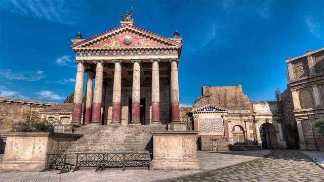 Rome cinématographique : séjour au centre ville avec visite guidée des plateaux de tournage