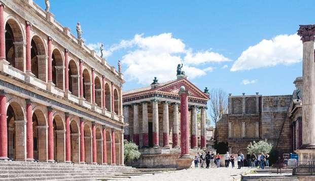 Visita i set di Roma e dormi in uno splendido relais