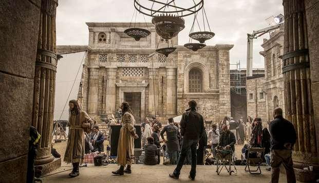 Soggiorno a Roma con visita dei set cinematografici di Cinecittà inclusa!