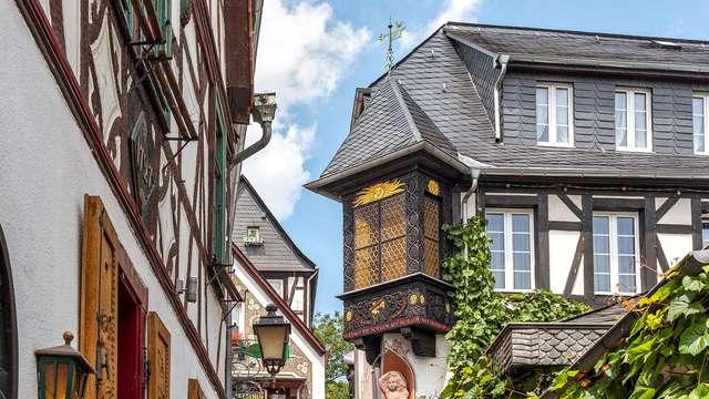 Rüdesheim am Rhein con desayuno