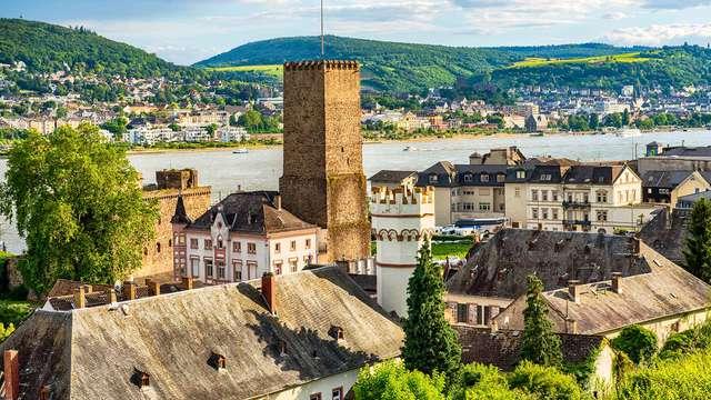 Delicias culinarias en los viñedos en Rüdesheim am Rheim (2 noches)