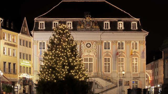 Mercado de Navidad en la región alemana del Rhin