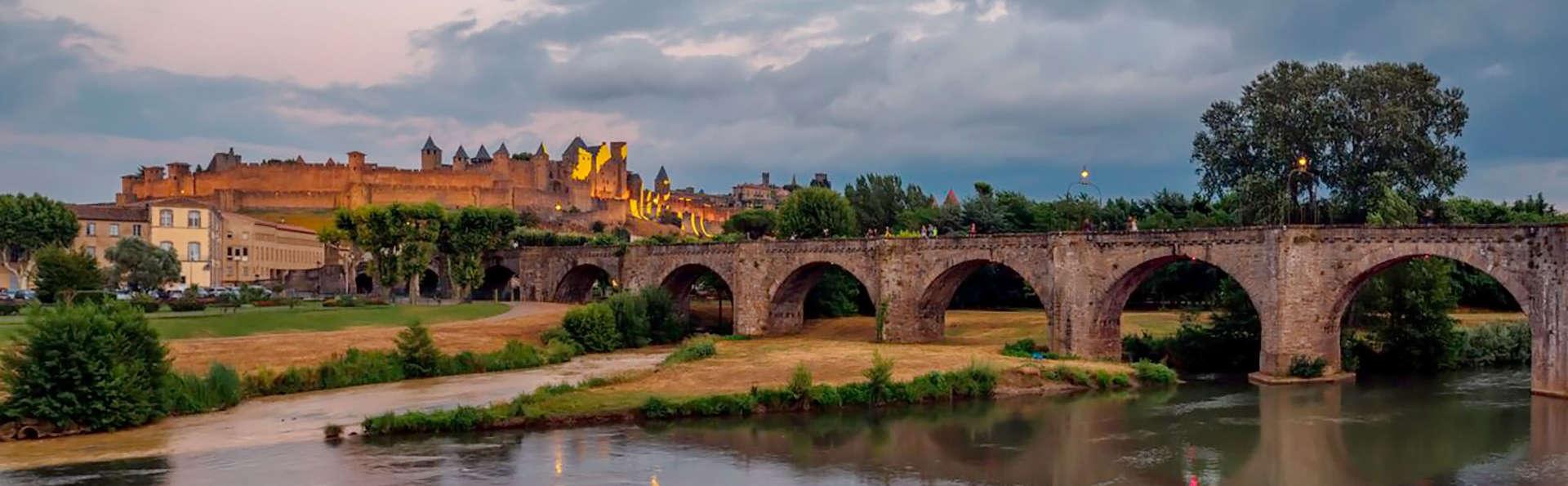 Découvrez Carcassonne à vélo