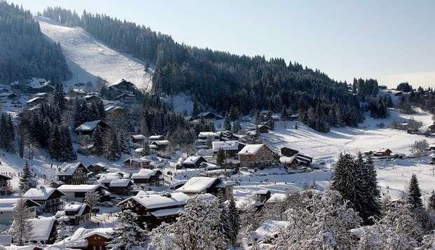 Profitez d'un séjour au ski au cœur du Grand Massif