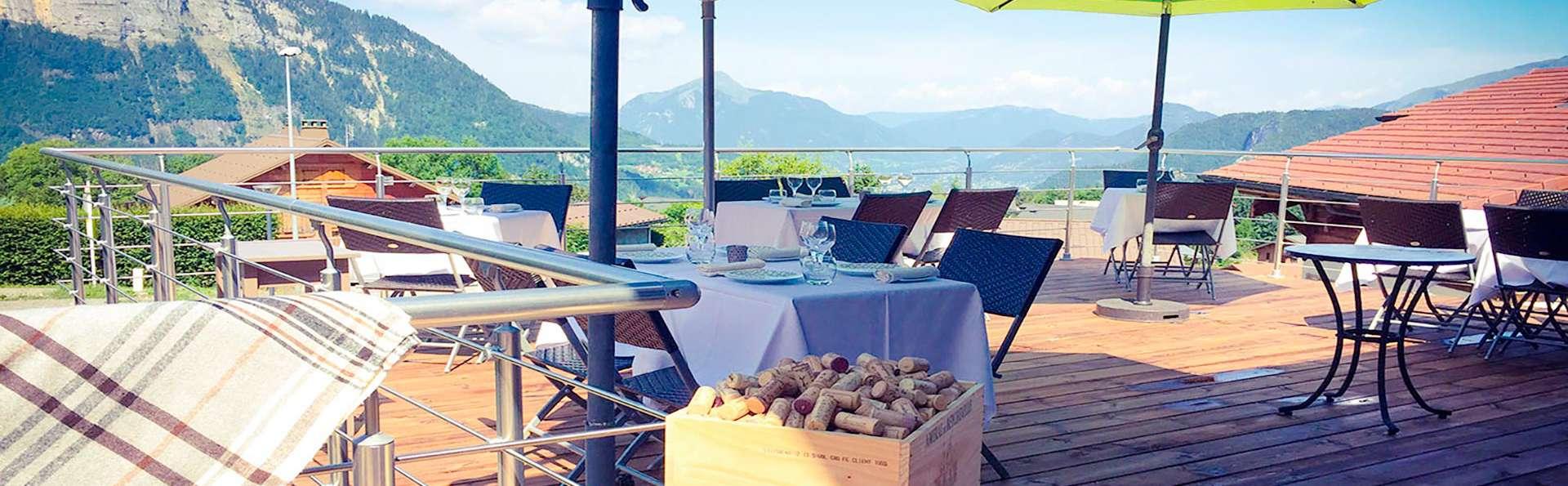 Dîner gastronomique et détente au spa (offert), au cœur du Grand Massif