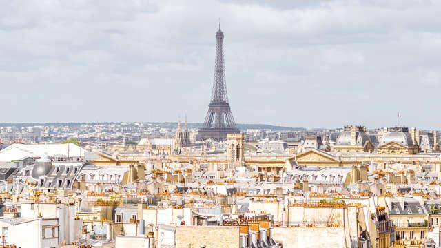 Relax a los pies de la Torre Eiffel