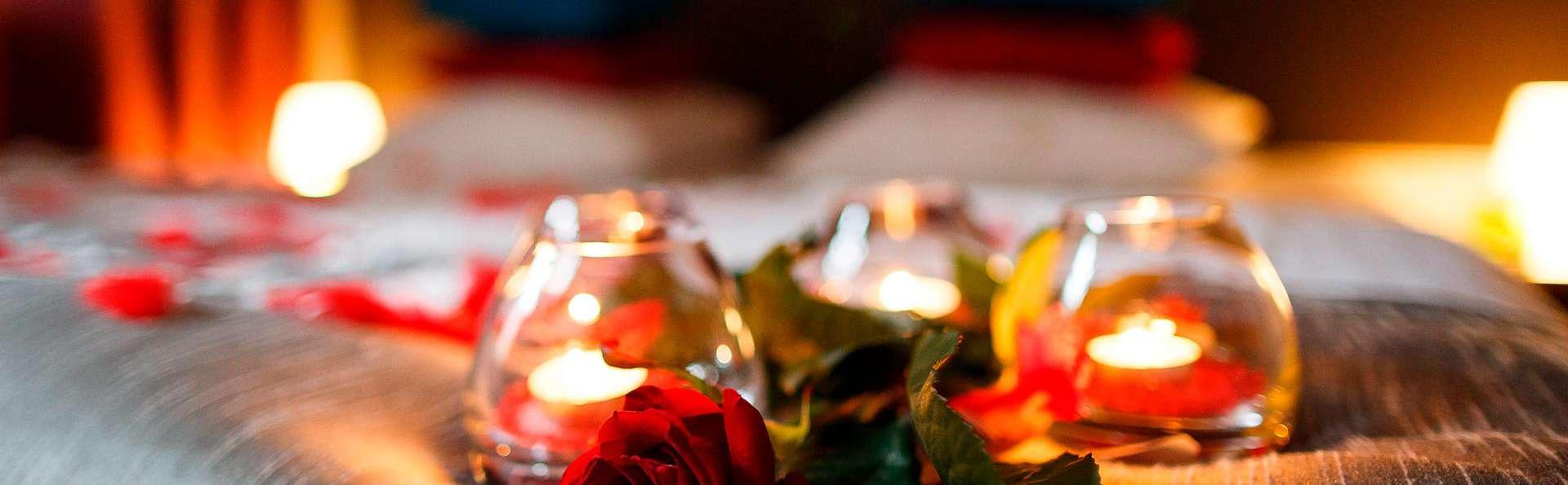 Romantisme à deux à Arinsal avec cava et chocolat