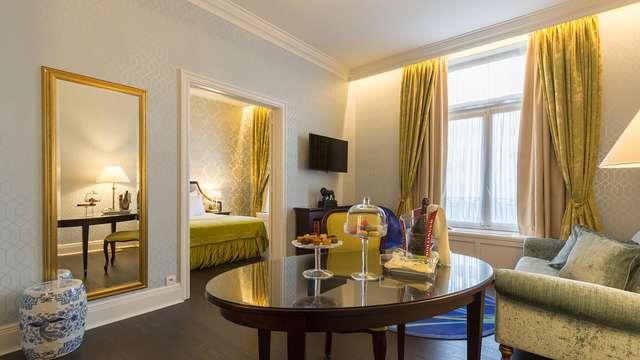 Comfort, luxe en ontspanning in het hartje van Brussel