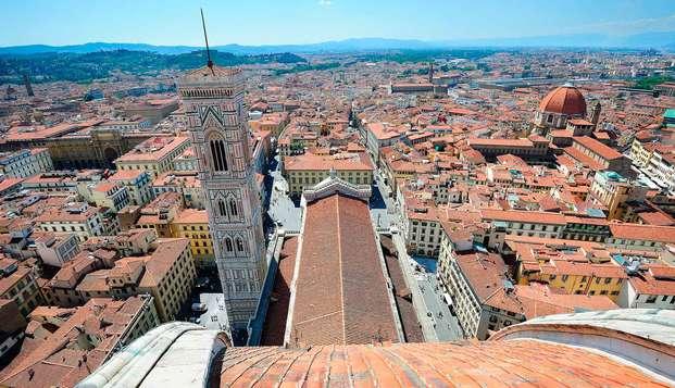 Recorre las calles históricas de Florencia