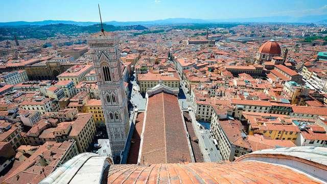 Wandel door de historische straatjes van Florence