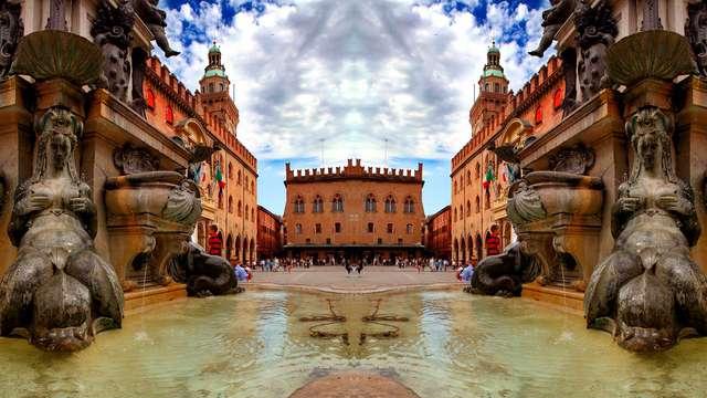 Soggiorno nel cuore di Bologna