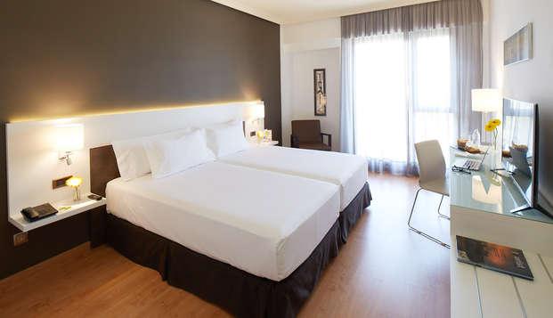 Escapada en un exclusivo hotel de 4* en pleno centro de Badajoz con desayuno incluido