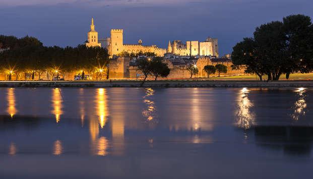 Découverte d'Avignon avec entrée au Palais des Papes (à partir de 2 nuits)