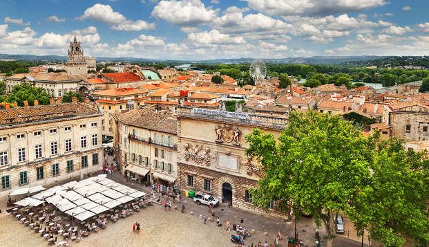 Offrez-vous un weekend culturel dans la ville historique d'Avignon