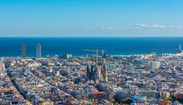 Descubre la maravillosa Barcelona con niño incluido en habitación triple