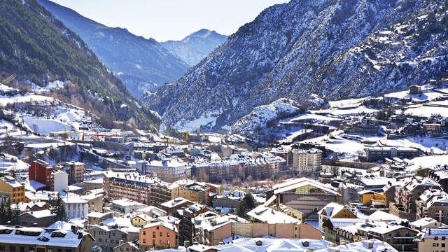 Ventana a los Pirineos en Andorra para tres