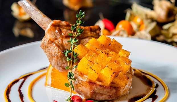 Culinair genieten met een seizoengebonden 3-gangen diner in Luxembourg