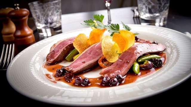 Week-end avec dîner bistronomique près de Beaune