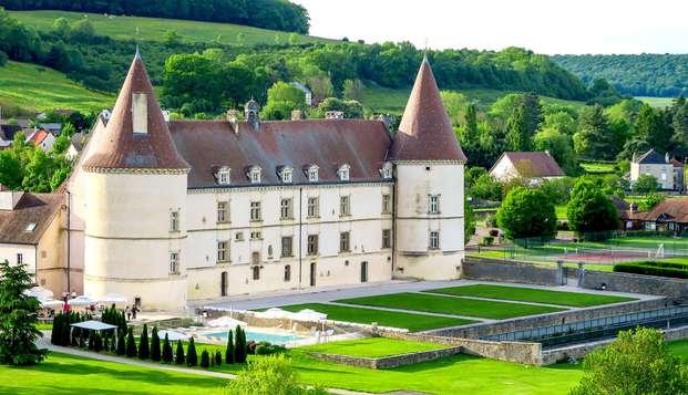 Invitation à la détente dans un château du XVIe siècle