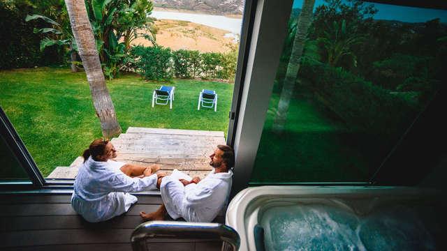 Innamorati di nuovo a La Viñuela con cena e spa privata