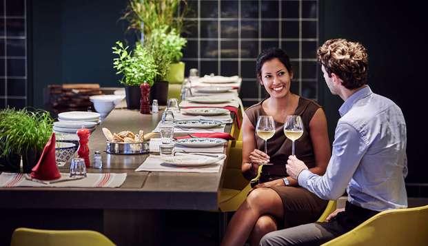 Week-end détente et gourmand avec dîner près de Paris
