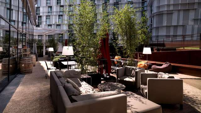 Pullman Paris Roissy CDG Airport - NEW TERRACE