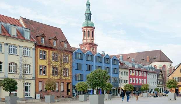 Séjour avec dîner inclus dans l'Offenbourg allemand
