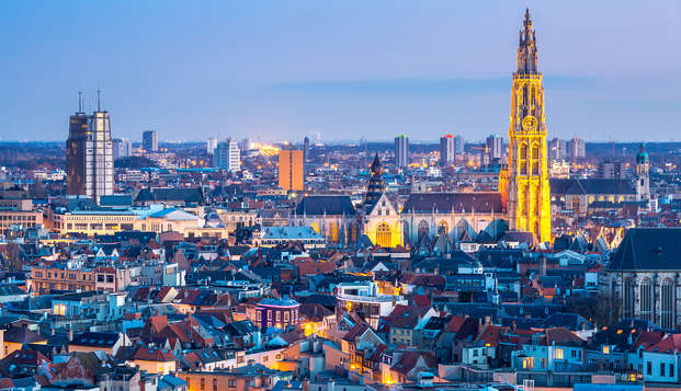 Heerlijk weekendje weg middenin het centrum van Antwerpen (vanaf 2 nachten)