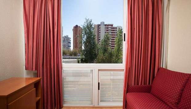 Disfruta de unos días de descanso en Benidorm en un hotel 4*