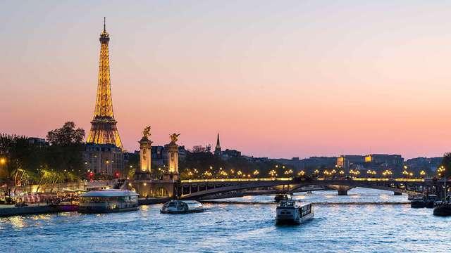 Week-end coquin et découverte de Paris
