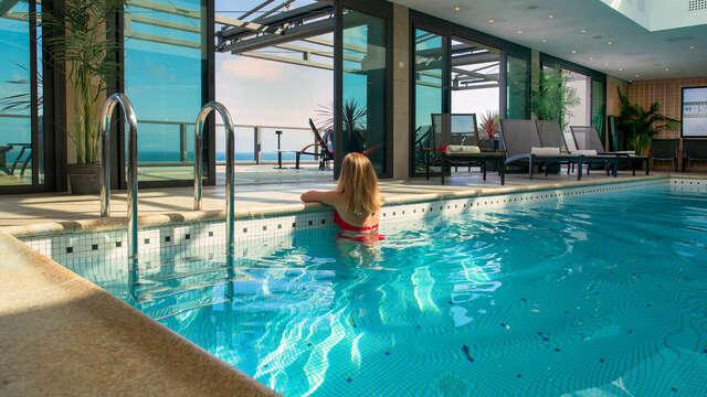 Verblijf in Perros-Guirec met toegang tot de spa Nuxe van het hotel